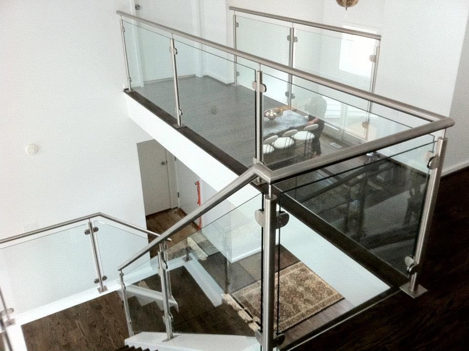 10mm Brushed 320 Satin Stainless Steel Railing Balusters