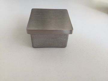 China Customizable Stainless Steel End Caps For Square Stainless Steel Railing factory