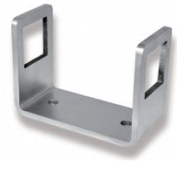 Stainless Steel Side Mount Bracket For Staircase / Balcony / Terrace