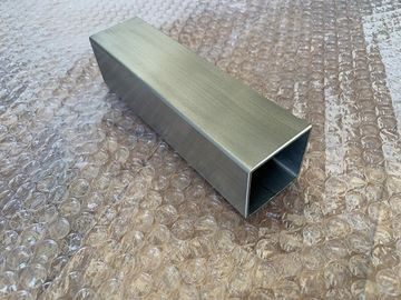China Inox Welded Stainless Steel Tubing Square Shape 22.2×22.2mm 40×40mm factory