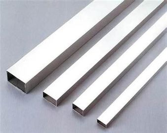 Rectangle Stainless Steel Tubing High Durability AISI 304 316 316L Made