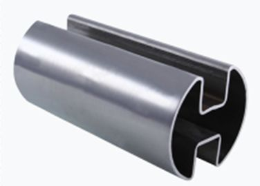 China Double Channel Stainless Steel Seam Welded Pipe 90 Degree / 180 Degree factory