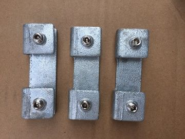 China Wear Resistant Carbon Steel Fittings , Straight 180 Degree 6mm Kick Plate Clamps factory