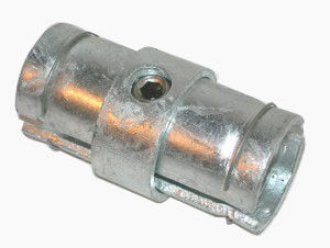 Hot Galvanized Round Tube / Pipe Connectors Carbon Steel Q235 Made