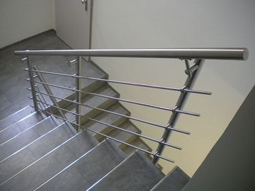 Modern Stainless Steel Railing Balusters For Staircase / Terrace / Pool Fence