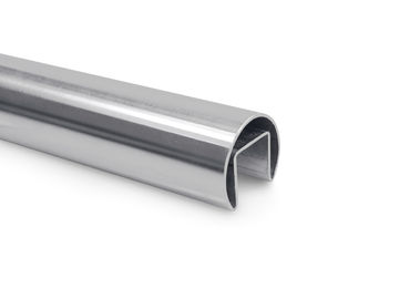 China Stainless Steel Welded U Channel Pipe Brushed / Polished Type Available factory