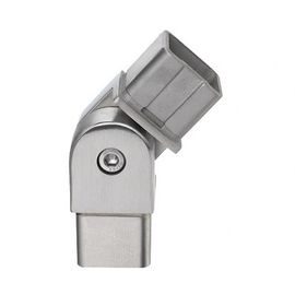 Square Adjutable Pipe Connector for Stainless Steel Balustrade