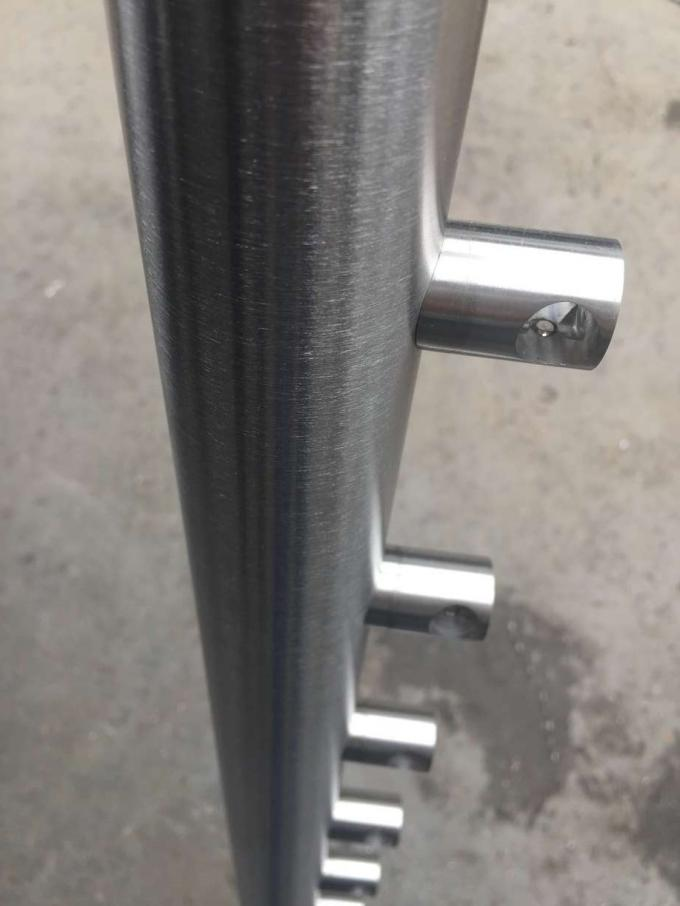 Stable Stainless Steel Railing Balusters Stainless Steel Wire Railing ISO 9001 0