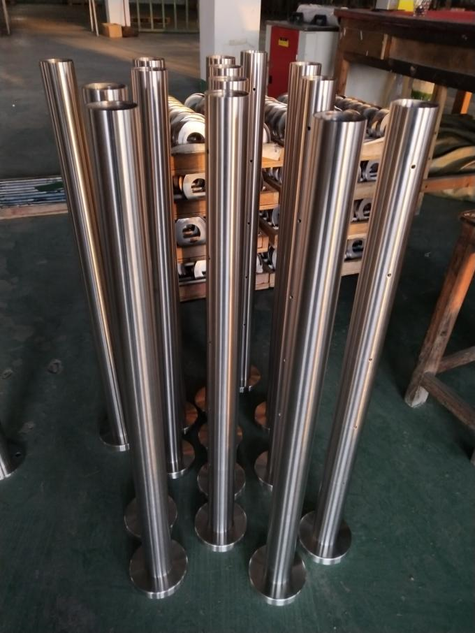 Stable Stainless Steel Railing Balusters Stainless Steel Wire Railing ISO 9001 1